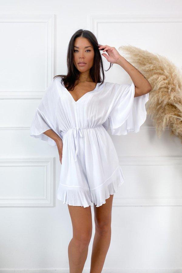 ΟΛΟΣΩΜΕΣ ΦΟΡΜΕΣ Loosey ολόσωμη φόρμα (σορτς) λευκό