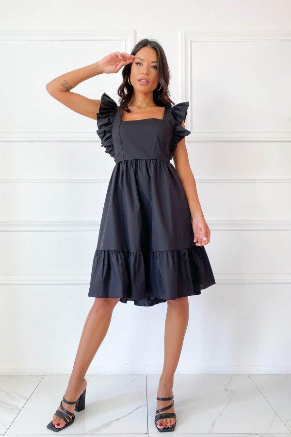 ΜΙΝΤΙ ΦΟΡΕΜΑΤΑ Nedda φόρεμα μαύρο