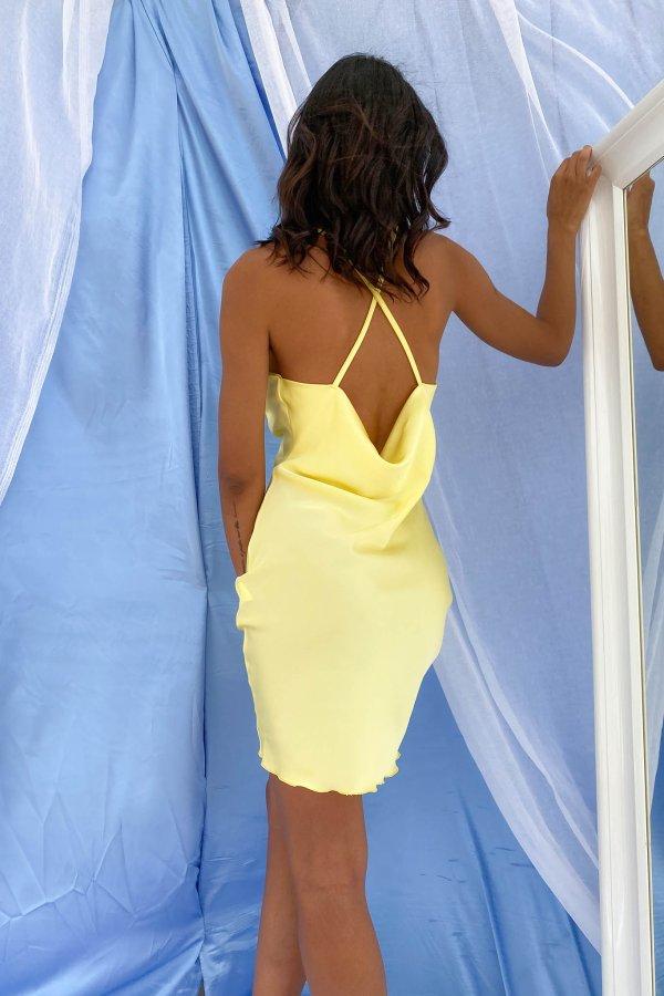 ΦΟΡΕΜΑΤΑ Bite φόρεμα κίτρινο