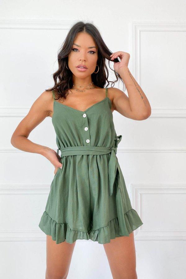 ΟΛΟΣΩΜΕΣ ΦΟΡΜΕΣ Roma ολόσωμη φόρμα (σορτς) πράσινο
