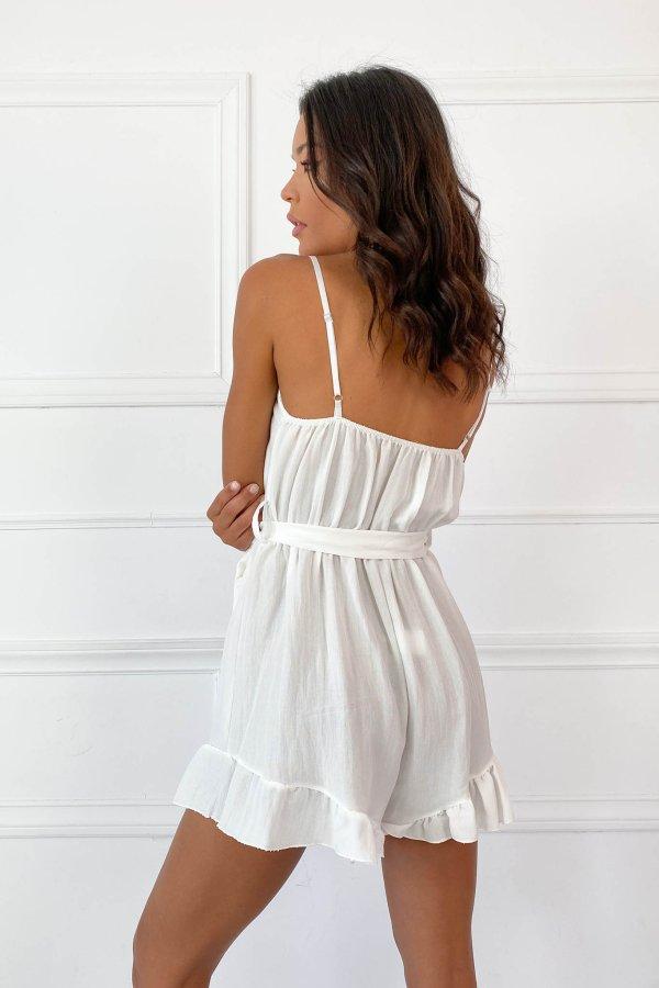 ΟΛΟΣΩΜΕΣ ΦΟΡΜΕΣ Roma ολόσωμη φόρμα (σορτς) λευκό