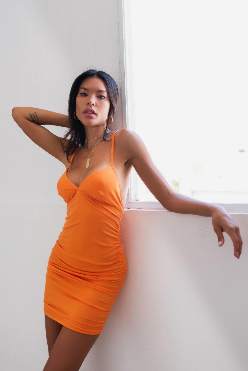 Milla φόρεμα πορτοκαλί