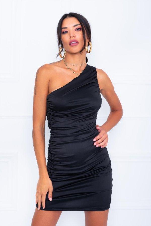 CASUAL ΦΟΡΕΜΑΤΑ Casino φόρεμα μαύρο