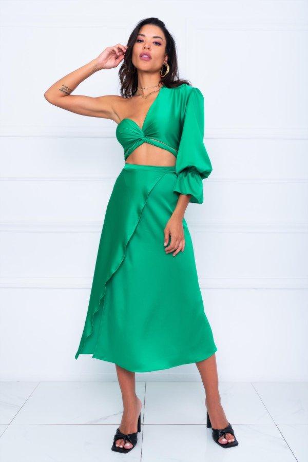 ΝΕΕΣ ΑΦΙΞΕΙΣ Marzo φούστα πράσινο