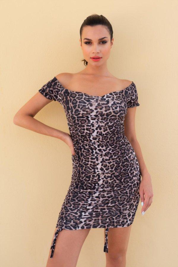 Big Dipper φόρεμα λεοπάρ