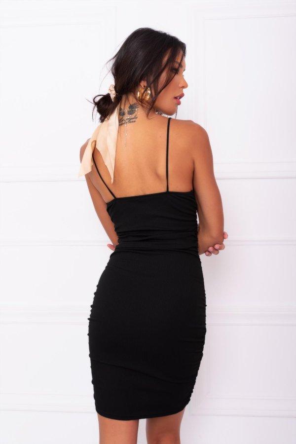 Armor φόρεμα μαύρο