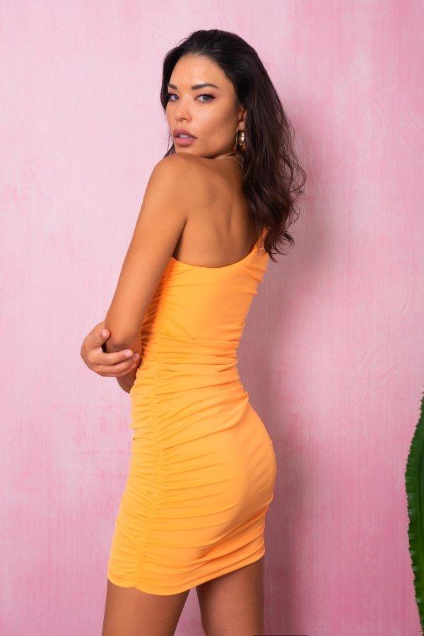 CASUAL ΦΟΡΕΜΑΤΑ Casino φόρεμα πορτοκαλί