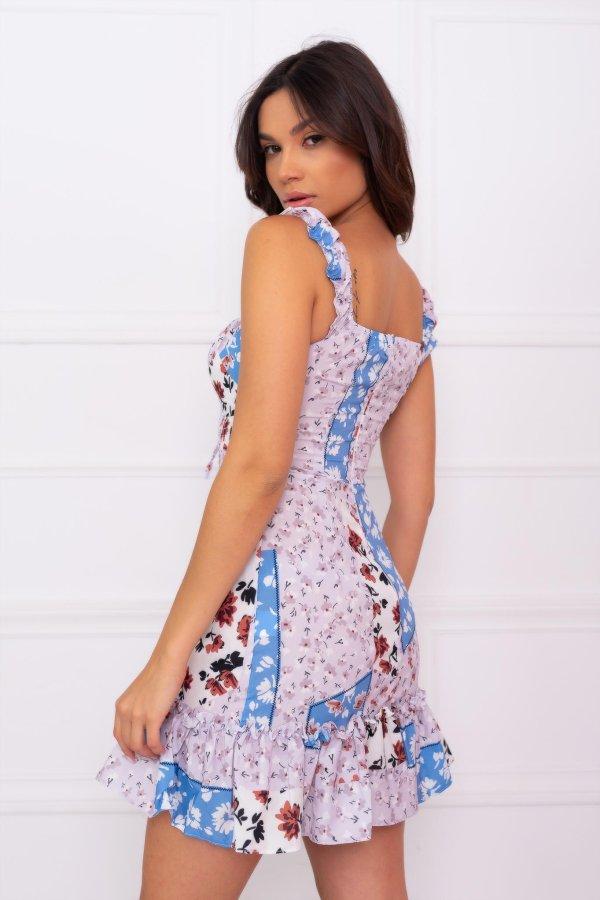 Astor φόρεμα σιελ