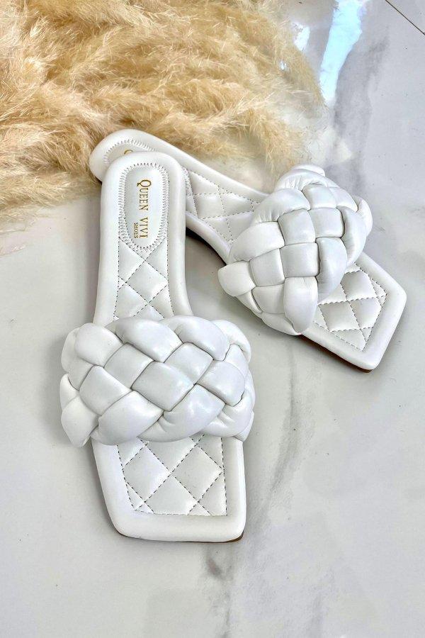 ΠΑΠΟΥΤΣΙΑ Brink σανδάλια λευκό