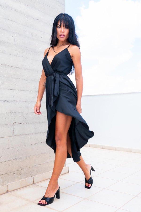 ΒΡΑΔΙΝΑ ΦΟΡΕΜΑΤΑ Employee φόρεμα μαύρο