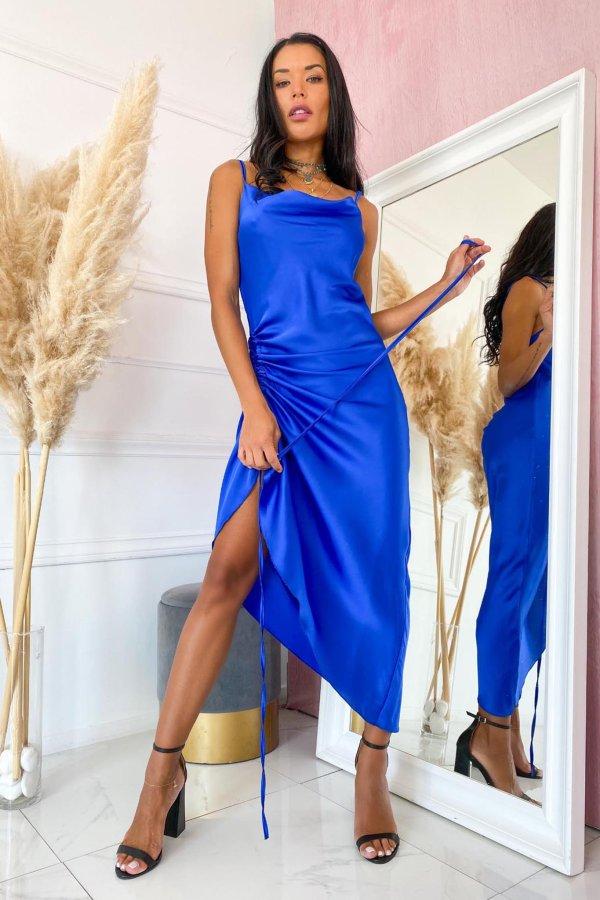 ΒΡΑΔΙΝΑ ΦΟΡΕΜΑΤΑ Stanley φόρεμα μπλε
