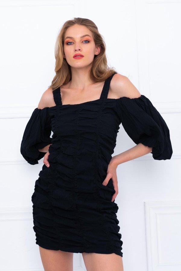 Redcurrant φόρεμα μαύρο
