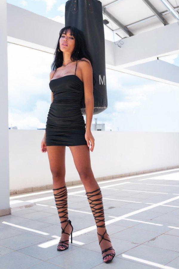 CASUAL ΦΟΡΕΜΑΤΑ Colombia φόρεμα μαύρο