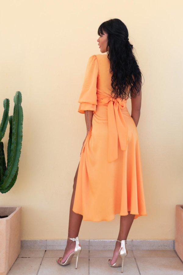 ΝΕΕΣ ΑΦΙΞΕΙΣ Marzo φούστα πορτοκαλί