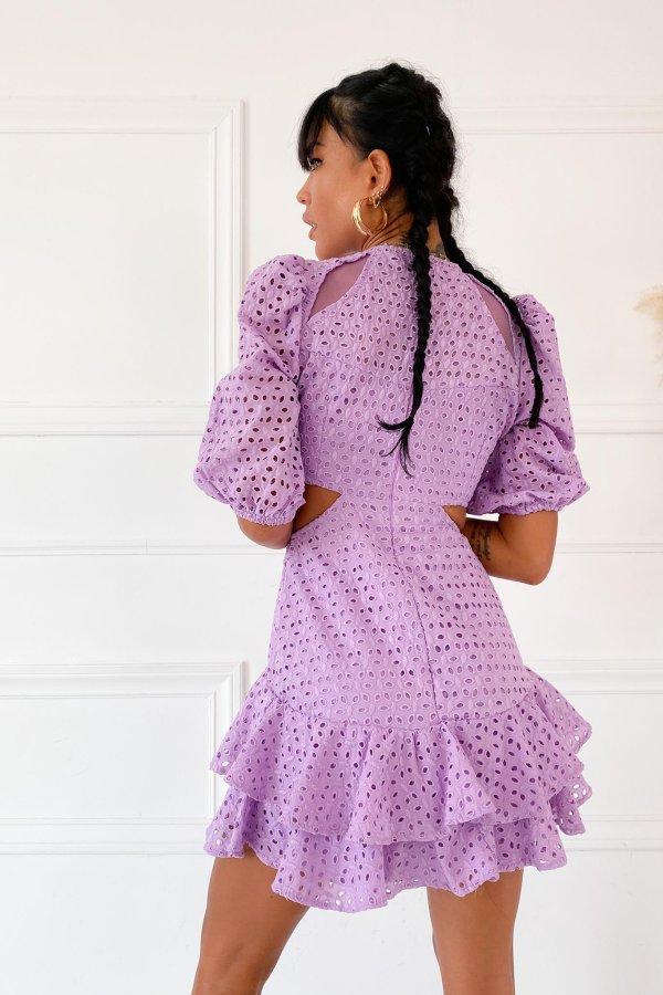 Pitch φόρεμα λιλά