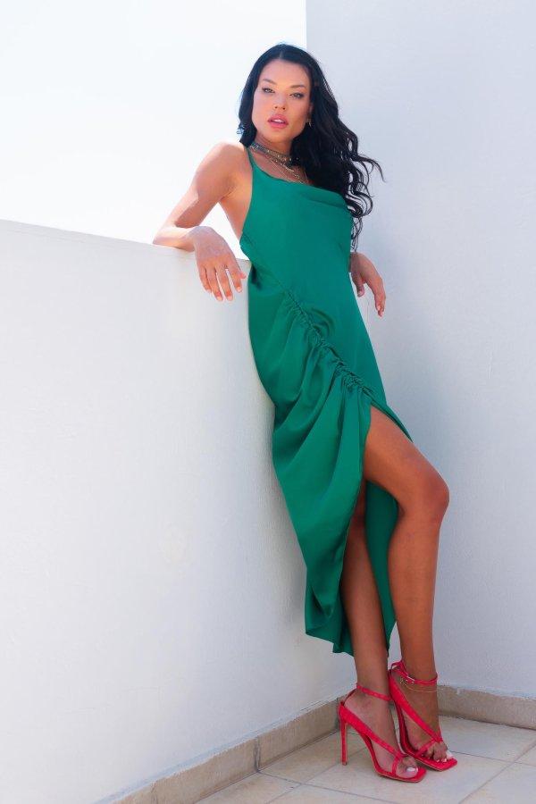 ΜΑΞΙ ΦΟΡΕΜΑΤΑ Stanley φόρεμα πράσινο