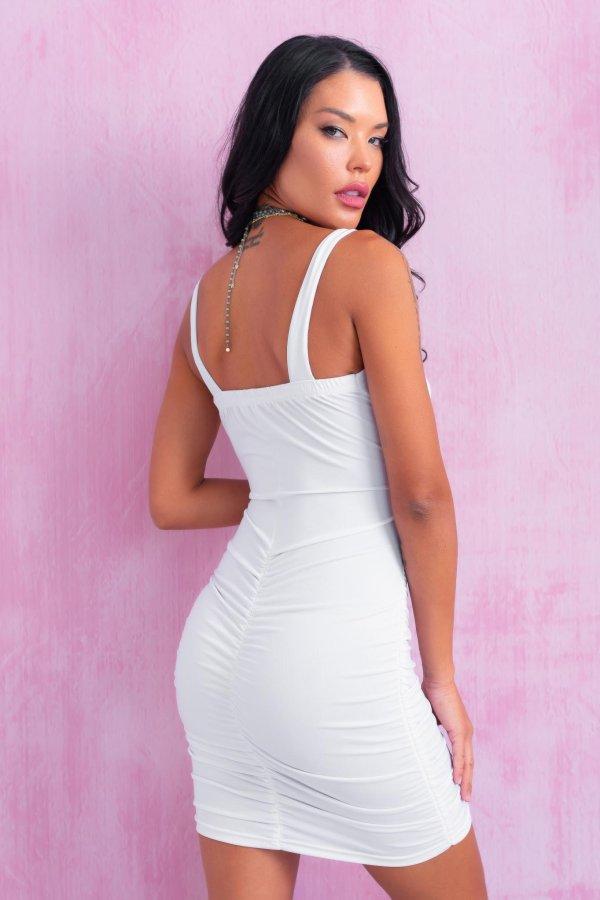 SALES Kane φόρεμα λευκό