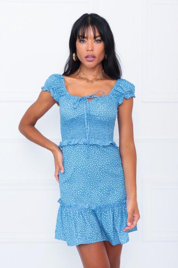 Slay φόρεμα σιελ