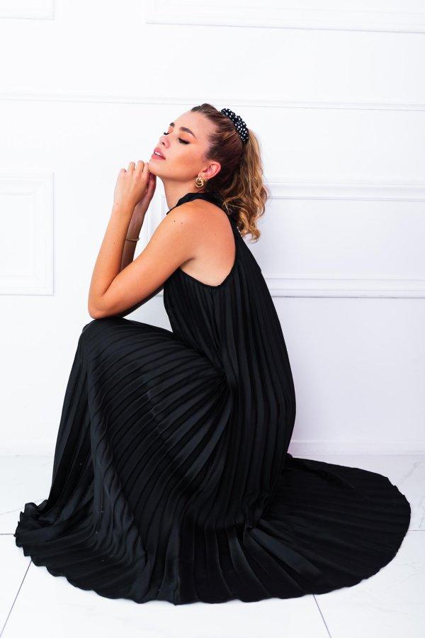 ΜΑΞΙ ΦΟΡΕΜΑΤΑ Accompany φόρεμα μαύρο