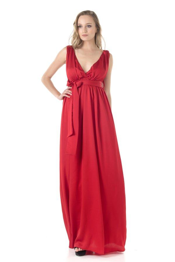 ΦΟΡΕΜΑΤΑ ΠΡΟΣΦΟΡΕΣ Litzt φόρεμα κόκκινο