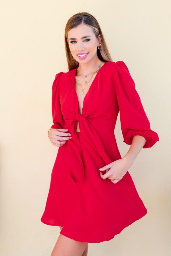 ΦΟΡΕΜΑΤΑ SALES Gian φόρεμα κόκκινο