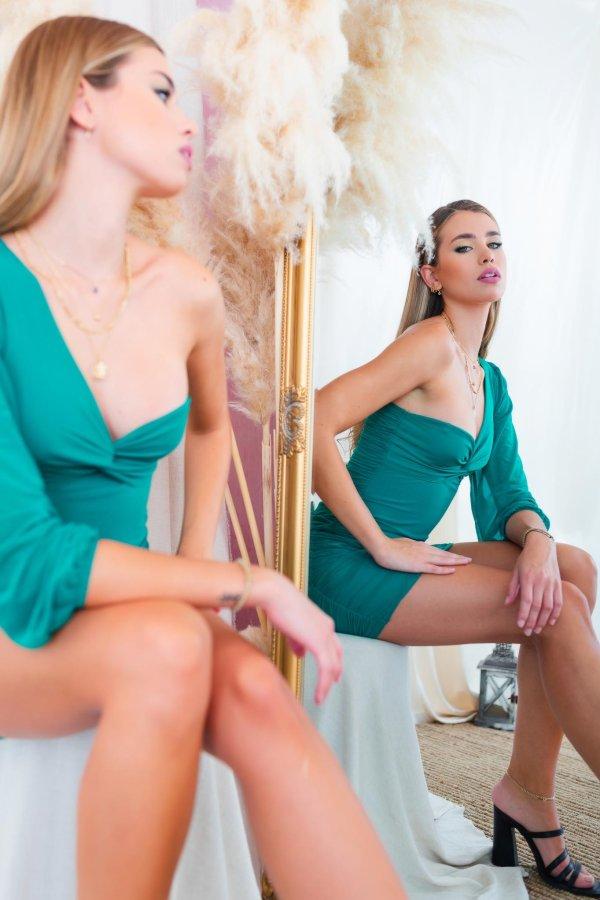 Association φόρεμα πράσινο