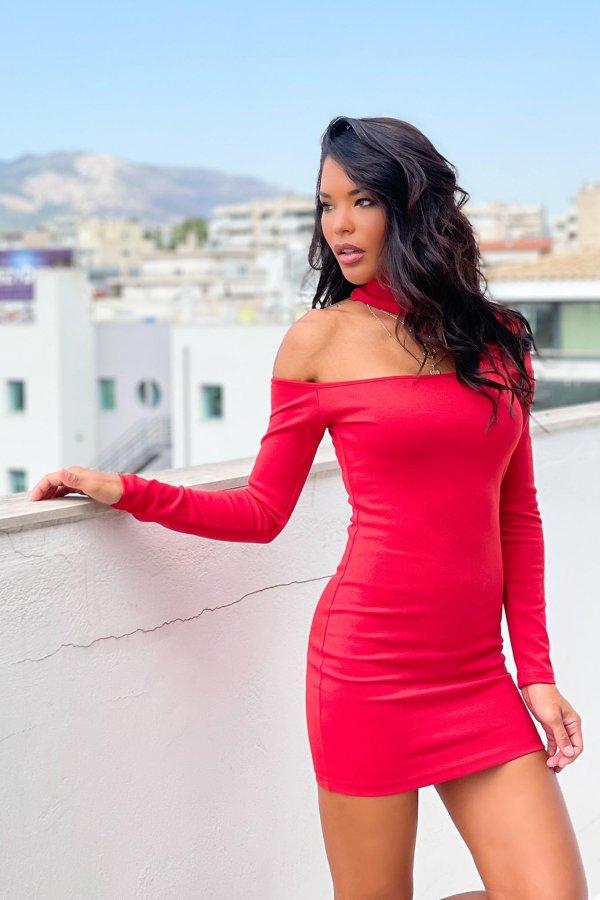 ΦΟΡΕΜΑΤΑ Graham φόρεμα κόκκινο