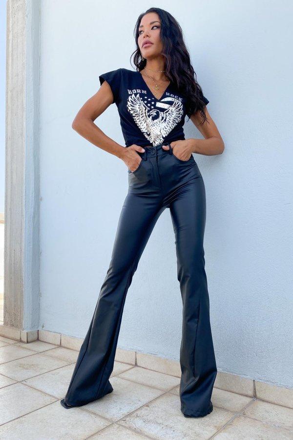 Azael παντελόνι μαύρο