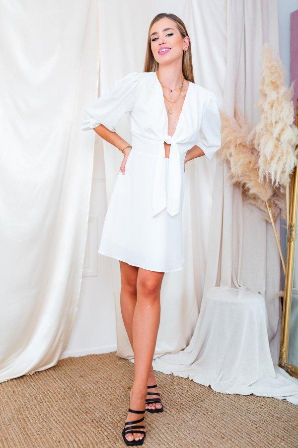 ΦΟΡΕΜΑΤΑ SALES Gian φόρεμα λευκό
