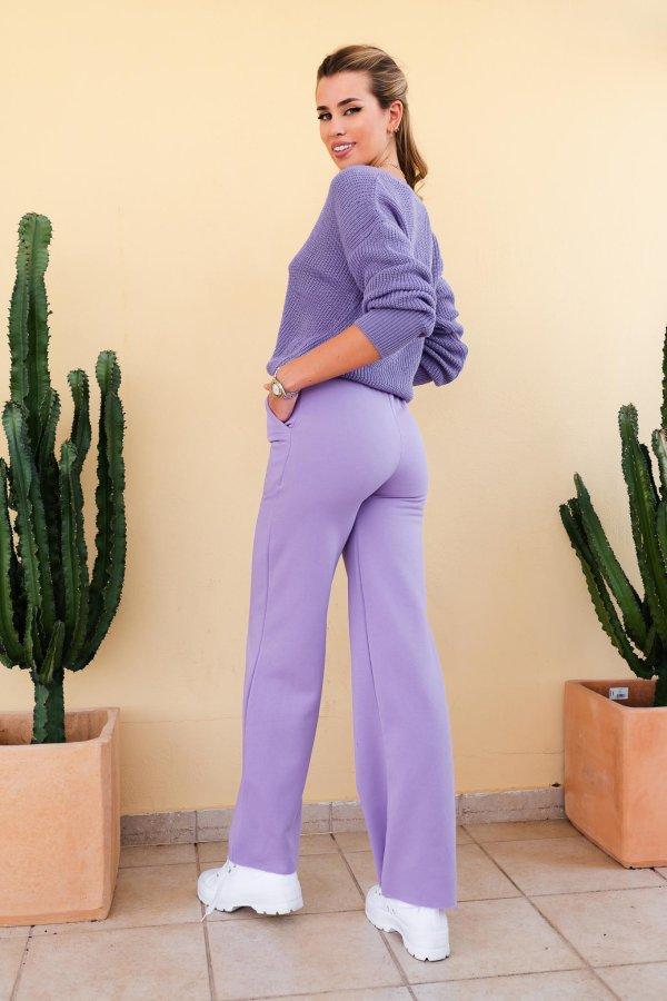 Quaker φούτερ παντελόνι λιλά