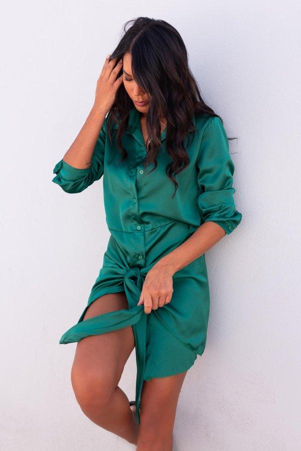 ΦΟΡΕΜΑΤΑ Seraphina φόρεμα πράσινο