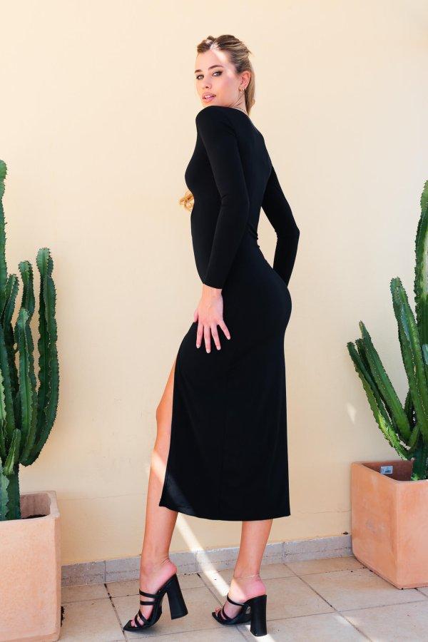 ΜΙΝΤΙ ΦΟΡΕΜΑΤΑ Samson φόρεμα μαύρο