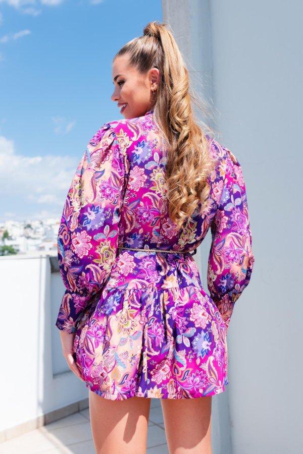 ΦΟΡΕΜΑΤΑ SALES Cicia φόρεμα μωβ