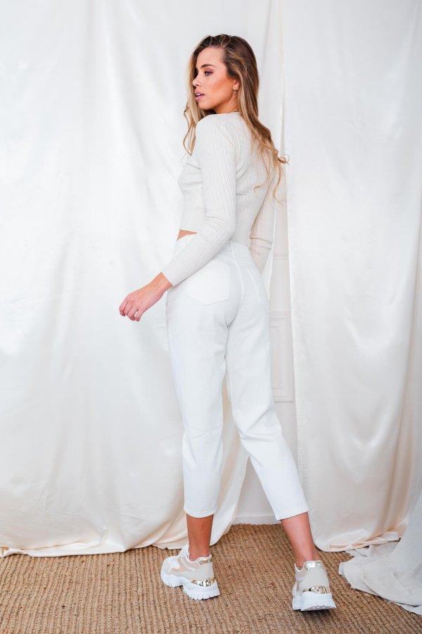 Principle τζιν παντελόνι λευκό