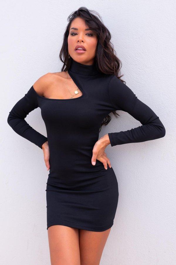 ΦΟΡΕΜΑΤΑ Graham φόρεμα μαύρο