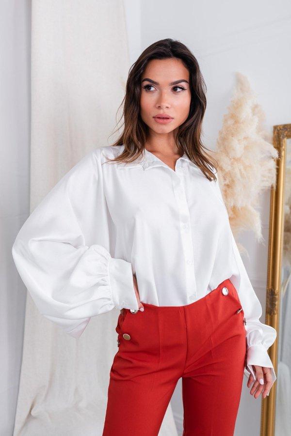 ΠΟΥΚΑΜΙΣΑ Crystal πουκάμισο λευκό
