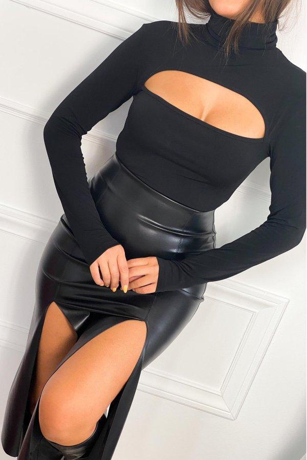 ΦΟΥΣΤΕΣ Strait φούστα μαύρο