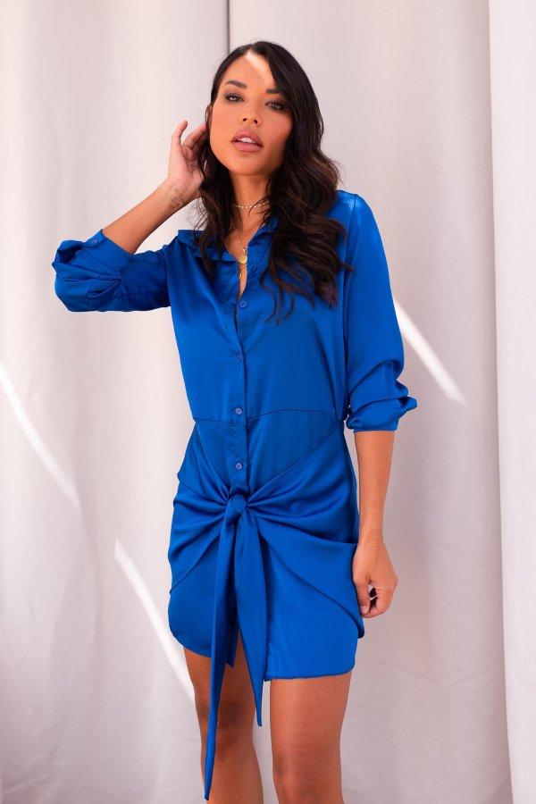 ΦΟΡΕΜΑΤΑ Seraphina φόρεμα μπλε