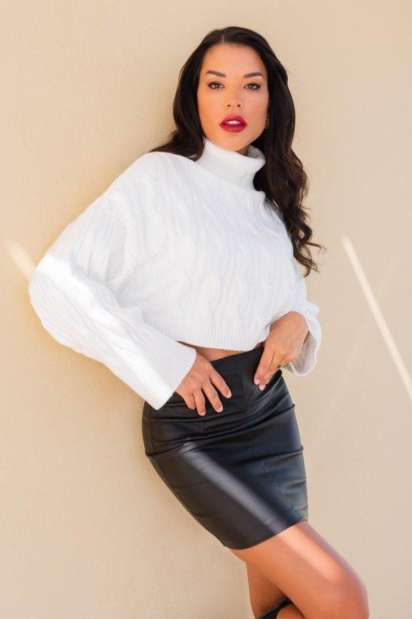 ΜΠΛΟΥΖΕΣ Amarillo μπλούζα λευκό