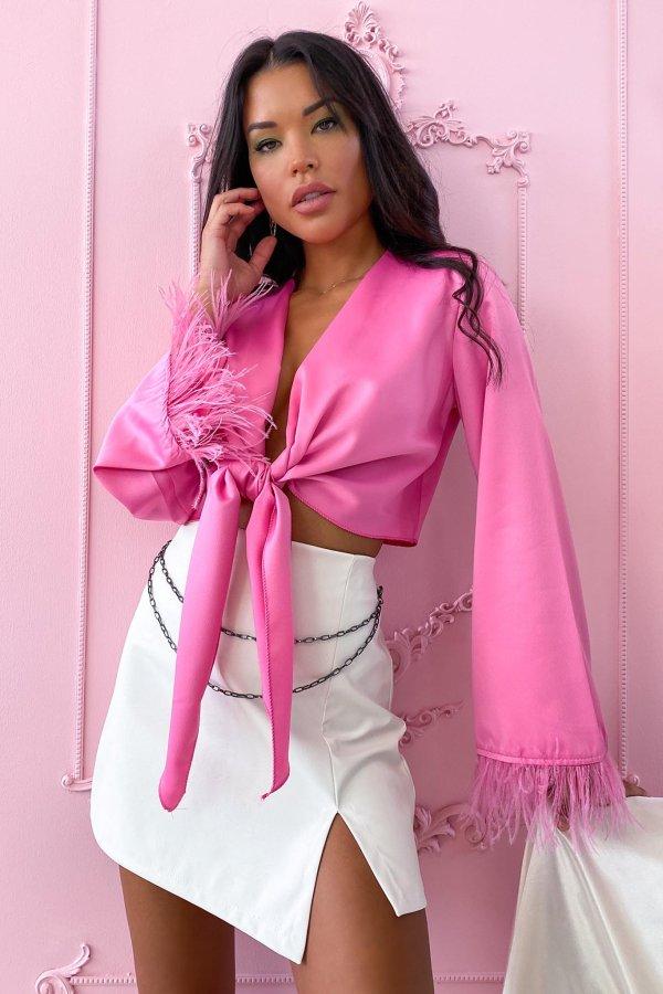 ΜΠΛΟΥΖΕΣ Abajo μπλούζα ροζ