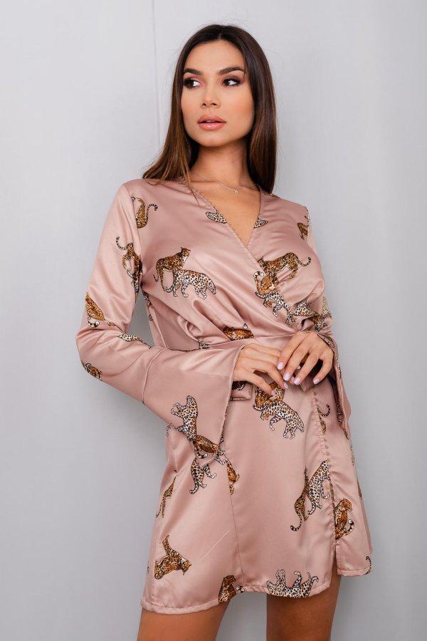 ΦΟΡΕΜΑΤΑ Aniela φόρεμα μπεζ