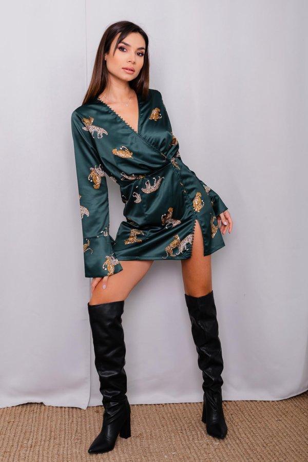 ΦΟΡΕΜΑΤΑ Aniela φόρεμα πράσινο
