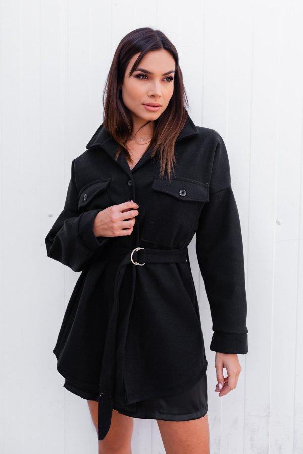 ΠΑΝΩΦΟΡΙΑ Balya παλτό μαύρο