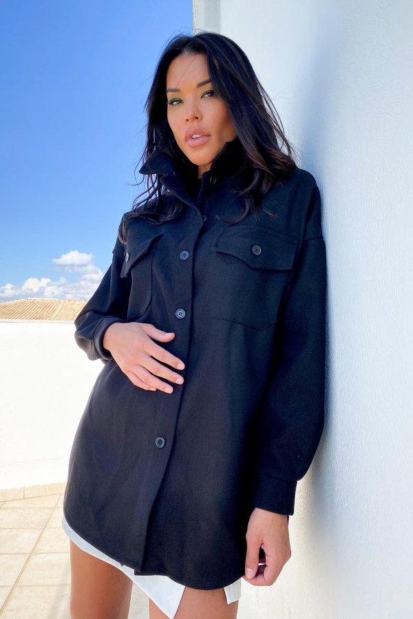 ΠΑΛΤΟ Bayani παλτό μαύρο