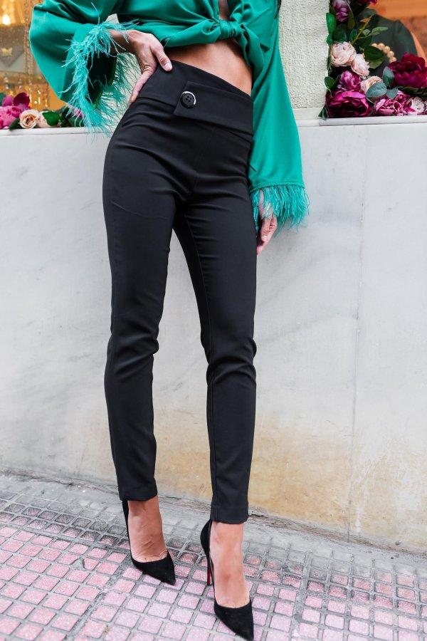 ΠΑΝΤΕΛΟΝΙΑ Beleth παντελόνι μαύρο