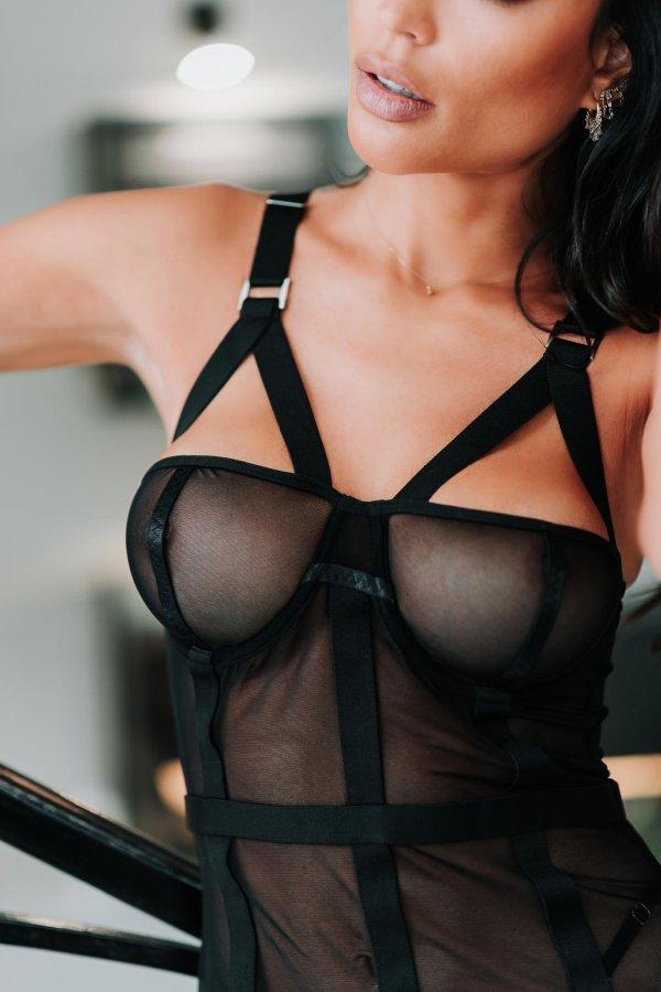 LINGERIE Black Pearl lingerie μαύρο