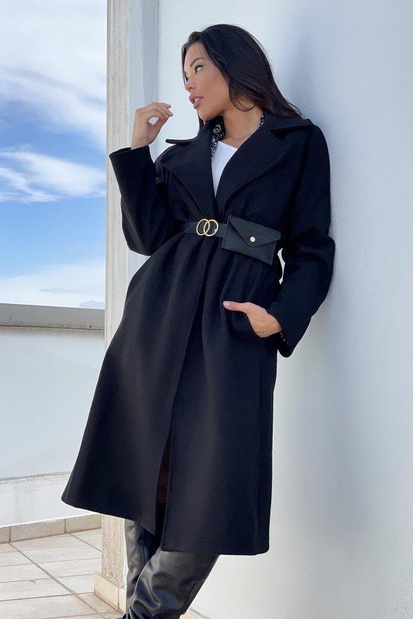 ΠΑΛΤΟ Danny παλτό μαύρο