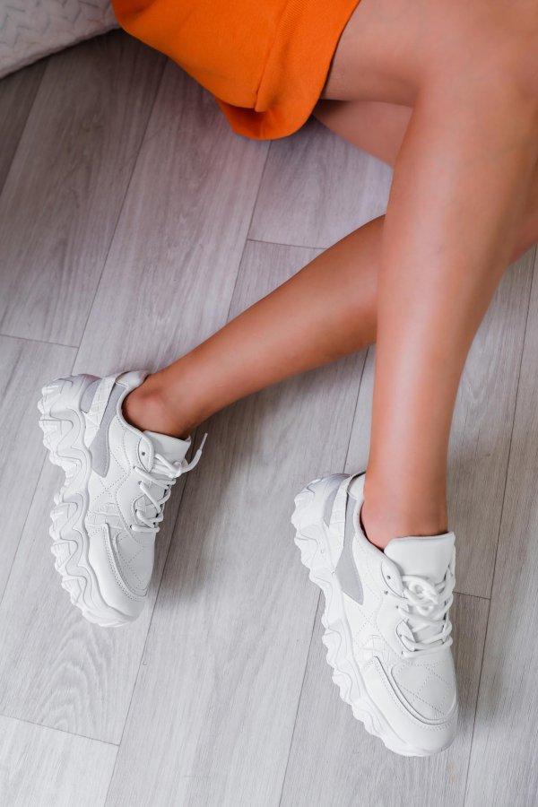 ΑΘΛΗΤΙΚΑ Sam sneakers λευκό
