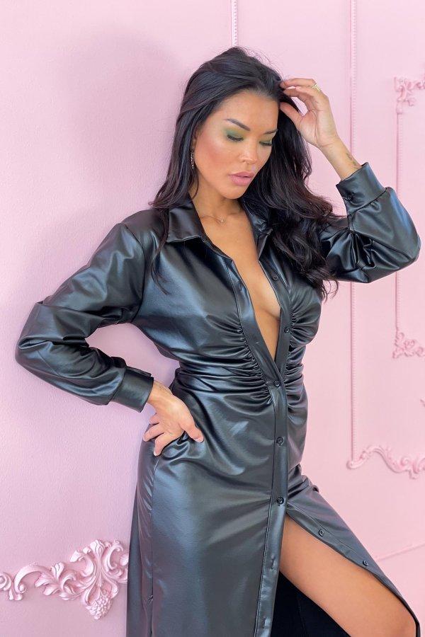ΜΑΞΙ ΦΟΡΕΜΑΤΑ Tori φόρεμα μαύρο